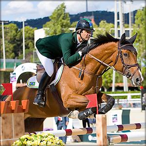 Elizabeth B Ford Horse Jumping