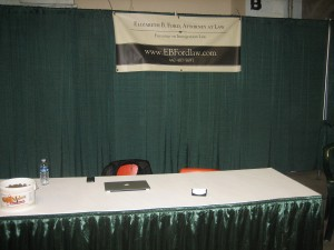 My booth at the show!